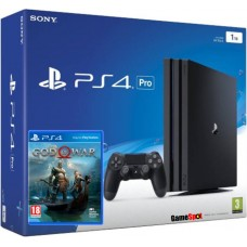 PlayStation 4 Pro Bundle (1 Tb, God of War, черный), , Консоли